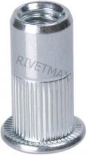 Заклепка резьбовая с плоским бортом М3 L11,2