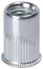 Заклепка резьбовая с уменьшенным бортом М10 L19,5 алюминиевая