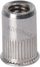 Заклепка резьбовая с уменьшенным плоским бортом М6 L14,0 нержавеющая