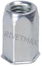 Заклепка резьбовая шестигранная с уменьшенным бортом М4 L13,5